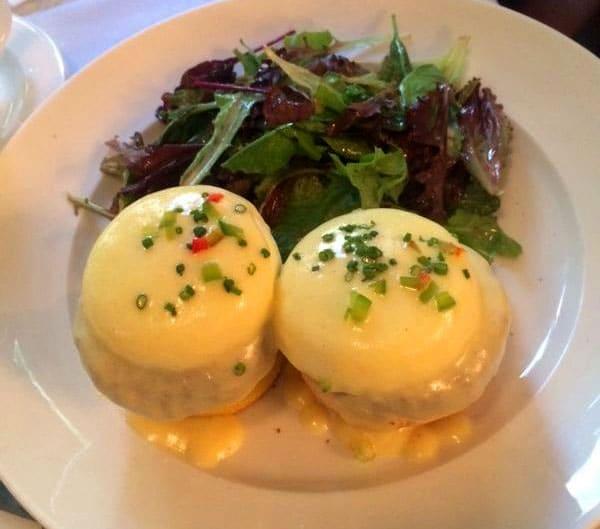 Eggs Benedict – my choice