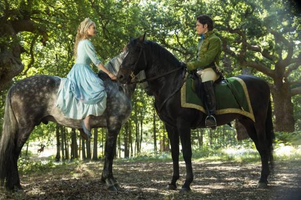 "In the 2015 ""Cinderella"" movie she actually meets the prince before the ball"