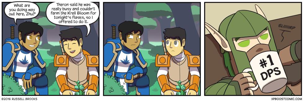 """Dammit, Zhusen, we talked about this."""
