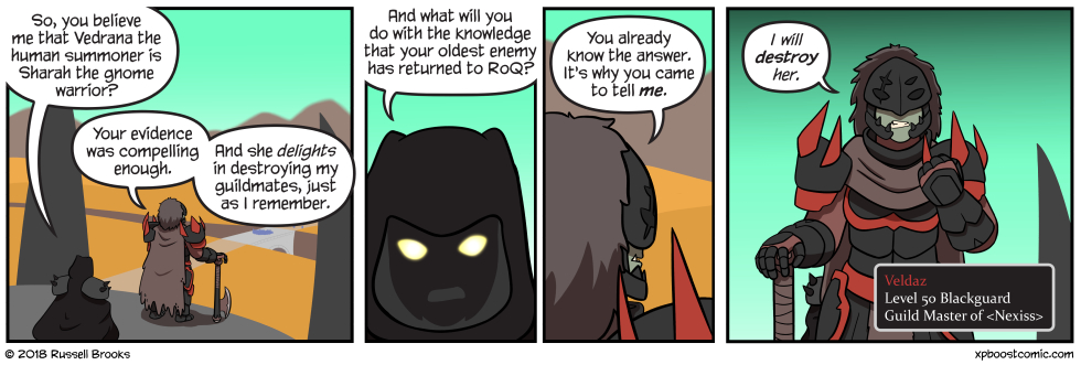 Yeah, blackguard is a class.