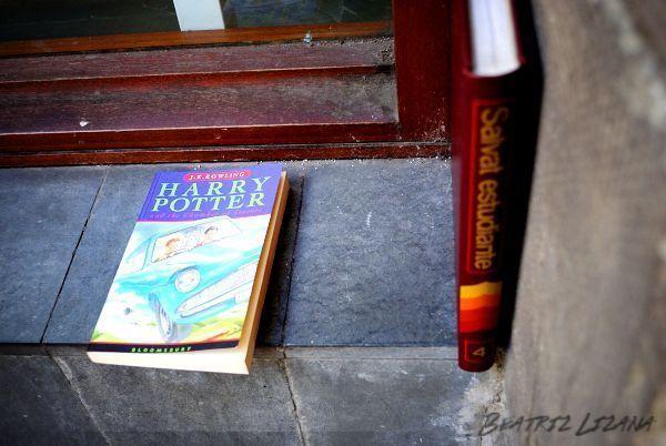 encontrar libros en la calle
