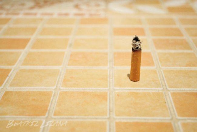 colilla de un cigarro