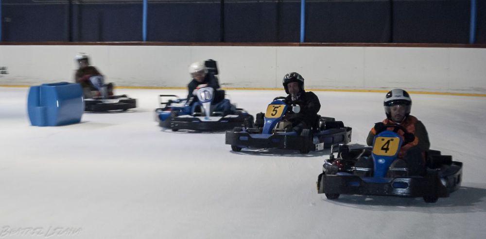 karts sobre hielo en el Palau de Gel de Andorra