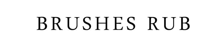 bRUSHES rUB