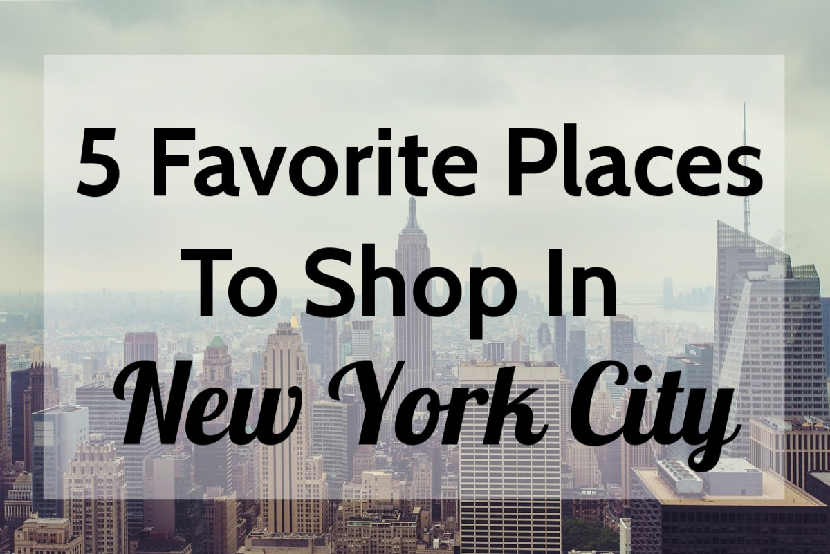 5 Favorite Places to Shop in New York City