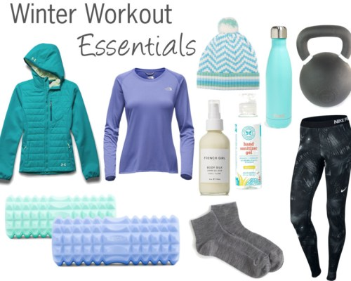 Winter workout essentials | www.xperimentsinliving.com