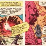 """Y'know--Cyttorak? We covered this in basic training, Cain."" (X-Men #12)"