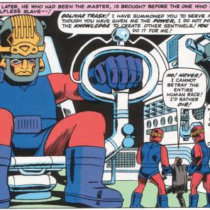 LOOK AT THAT KIRBY HAT. LOOK. AT. THAT. KIRBY. HAT. (X-Men #15)