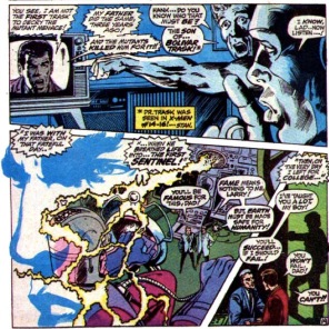 """Intergenerational miscommunication"" is a really common villain origin story. Also, check out those Neal Adams layouts. Man, he's good. (X-Men #57)"