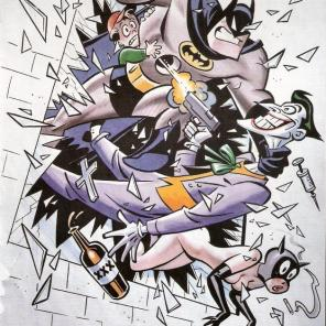Bruce Timm's love letter to Broadcast Standards & Practices.
