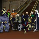 The first-season lineup of X-Men: Evolution.