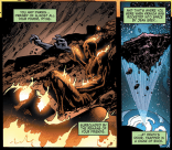 What X doesn't know is that Gabriel and his teammate Darwin are actually still alive, so when the X-Men launch Krakoa into orbit, Gabriel and Darwin go with it. They get stuck in stasis for years, in space. OOPS.