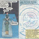 Kate Pryde vs. time travel.