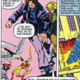 Rick Redfern and Joan Caucus of Doonesbury cameo in X-Men #142, to our eternal delight.