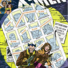 """X-Men #141, the first issue of """"Days of Future Past,"""" has one of the most frequently referenced covers in all of X-Men. (Fun fact: We almost went with this one for the podcast cover art.)"""