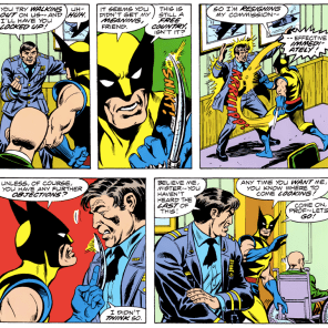 """Think you can just walk away, Wolverine? We'll come after you with our deadliest weapon yet: Alpha Flight crossovers!"""