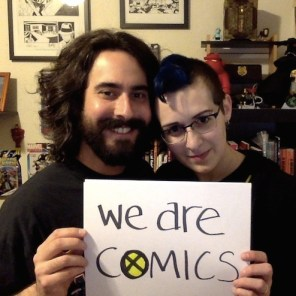 We Are Comics is a campaign to show—and celebrate—the faces of our community, our industry, and our culture; to promote the visibility of marginalized members of our population; and to stand in solidarity against harassment and abuse. See our full post here.