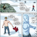 Iceman: chronically under-appreciated, chronically awesome. X-Men: Season One