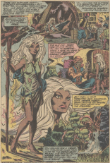 Page 3 of Storm's origin flashback. Can we talk about Dave Cockrum splash pages and how they are AWESOME? (X-Men #102)