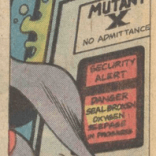 Well, that's portentous. (X-Men #104)