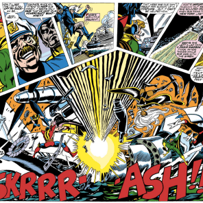 """""""Whaddayamean, 'roll diplomacy'? I put all my points into claw weapons!"""" (X-Men #104)"""