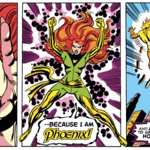 Phoenix wants you heralds of Galactus off her damn lawn. (X-Men #105)