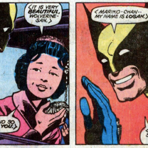 That's Mariko Yoshida. She's going to be really important later. (X-Men #120)