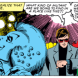 Jean and Scott are not disco people. (X-Men #130)
