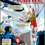 Warren Worthington and his shorts. (X-Men #132)