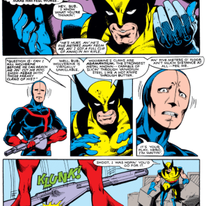 In X-men #33, we hit Peak Awesome Wolverine. It's all downhill from here, kids.