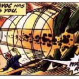 This panel isn't all that plot-relevant. We just think Havok's powers look super cool. (X-Men #97)