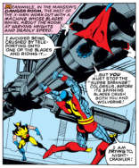 But first, a brief round of Danger Room exposition! (X-Men #136)