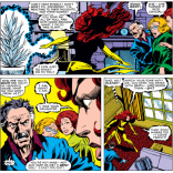 "In John Grey's defense, ""what to do when your child is possessed by a potentially malevolent cosmic force"" is really not covered adequately in most parenting books. (X-Men #136)"