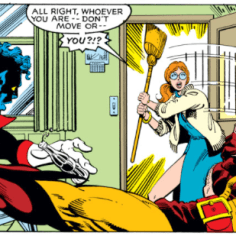 This happens to us pretty regularly with college friends. (X-Men #139)