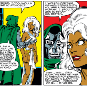 I like to imagine that both of them have, in fact, had worse first dates. (X-Men #147)