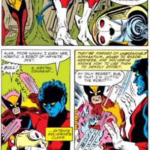 Let us never speak of this again. (X-Men #149)