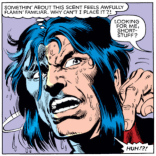 Wolverine with wet hair. You're welcome. (X-Men #150)