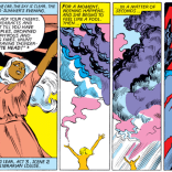Having taken over Storm's body, Emma Frost celebrates by, um, quoting King Lear. (X-Men #151)