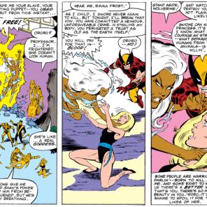 Well done, Wolverine. (X-Men #152)