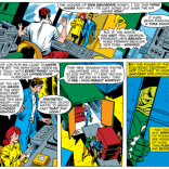 Scott Summers' radio career lasted five whole panels. Here are four of them. We remain annoyed that none of them actually show him recording, because that would be really useful as a podcast graphic. (X-Men #48)