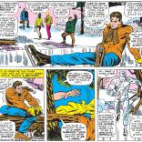 Iceman vs. ice skating. (X-Men #29)