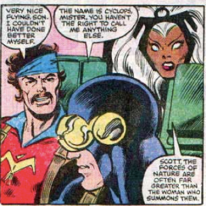 That's... pretty valid, actually. (Uncanny X-Men #154)