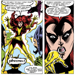 Uncanny X-Men #157, in which Kitty Pryde saves the world with costumes. Like, seriously.