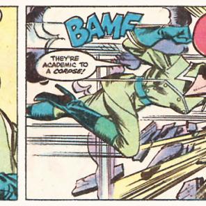Can we talk for a sec about Rogue's superlative villainface game? (Uncanny X-Men #158)