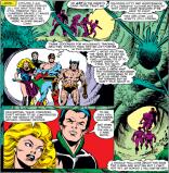 So, THAT'S CREEPY. (X-Men #163)