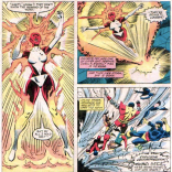 Binary: Too awesome for your stupid airlock. (X-Men #164)
