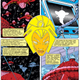 Storm X-plains the Acanti, part one. (X-Men #166)