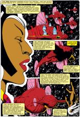 Storm X-plains the Acanti, part two. (X-Men #166)