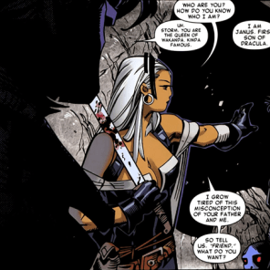 DAMN SKIPPY. (Storm and Gambit #1)
