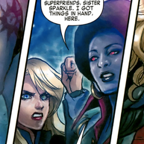 PITCH: A limited series where Dazzler and Northstar team up with the disco vampires. CALL US, MARVEL. (X-Men vs. Vampires #1)